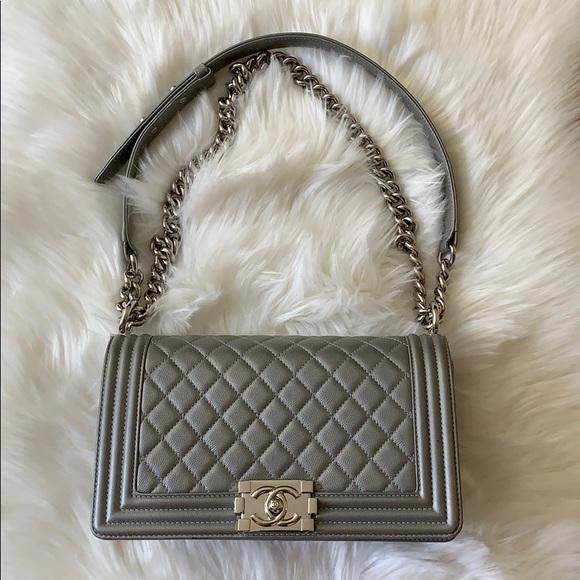 cb1f0a263c1e CHANEL Bags | Authentic Le Boy | Poshmark